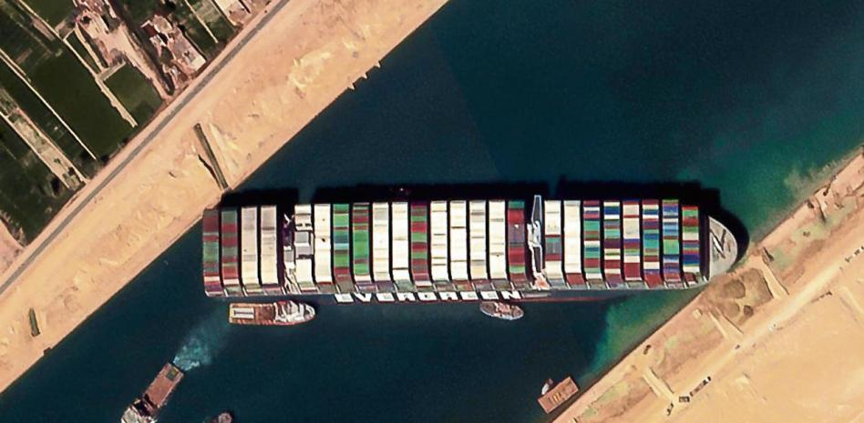 Suez Canal and the new international division of labor
