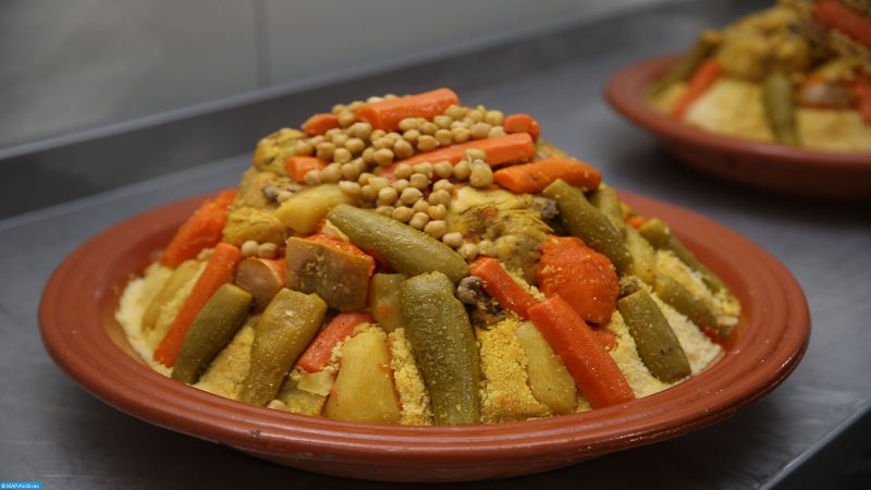 Couscous and pasta, made with durum wheat, are a staple in the diet of workers in Mediterranean countries